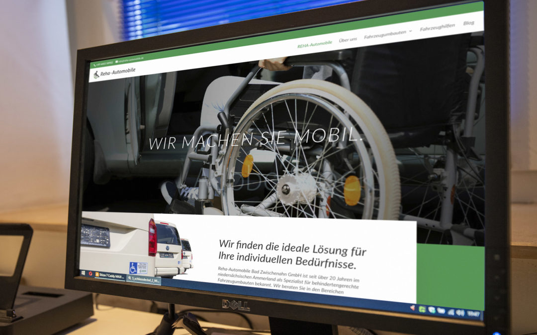 REHA – Neue Website